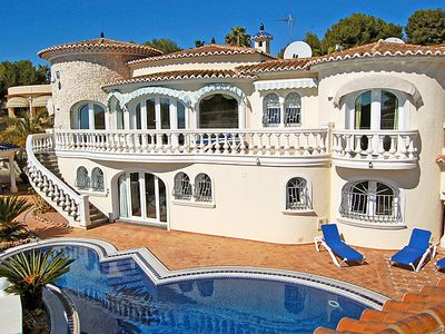 Photo for Vacation home Luxemburg in Moraira - 8 persons, 4 bedrooms
