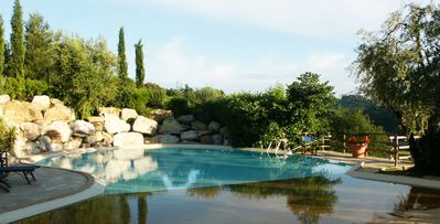 Photo for Le Rondini- 5 bdrm, private Tuscan country villa with outdoor dining near Pisa
