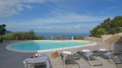 Photo for villa with pool that sleeps 8 guests  in 4 bedrooms