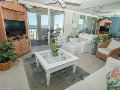 Photo for Magnolia House 608 - Top Floor Beautiful 2 BR with Free beach service for 2