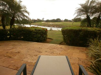 Your amazing golf and waterfront view from your terrace!