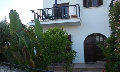 Photo for Delightful Villa with Stunning Sea Views and Communal Pool. Free Broadband.