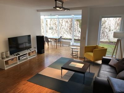 Photo for Designer 3-room garden ground floor apartment - living with quality standards