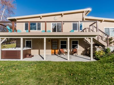 Photo for Spacious lakeview home w/ hot tub - walk to town and Lake Chelan!