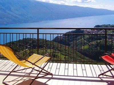 Photo for Residence Bellevue, Voltino di Trimosine  in Westlicher Gardasee - 2 persons, 2 bedrooms