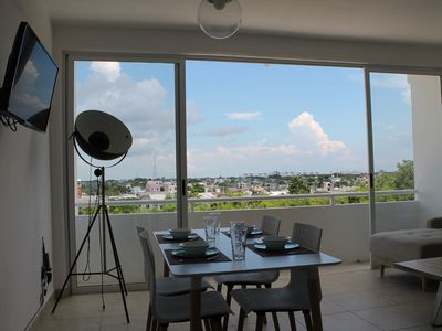 Photo for New and amazing apartment in Downtown Cancun w/Pool LIV403