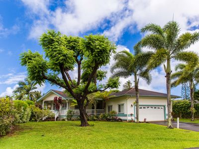 Photo for Tropical Oasis with yard* Minutes from Hanalei* Pro managed with ALOHA**