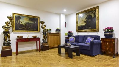 Photo for Classic 1 Bedroom Apartment with Terrace in Central Rome