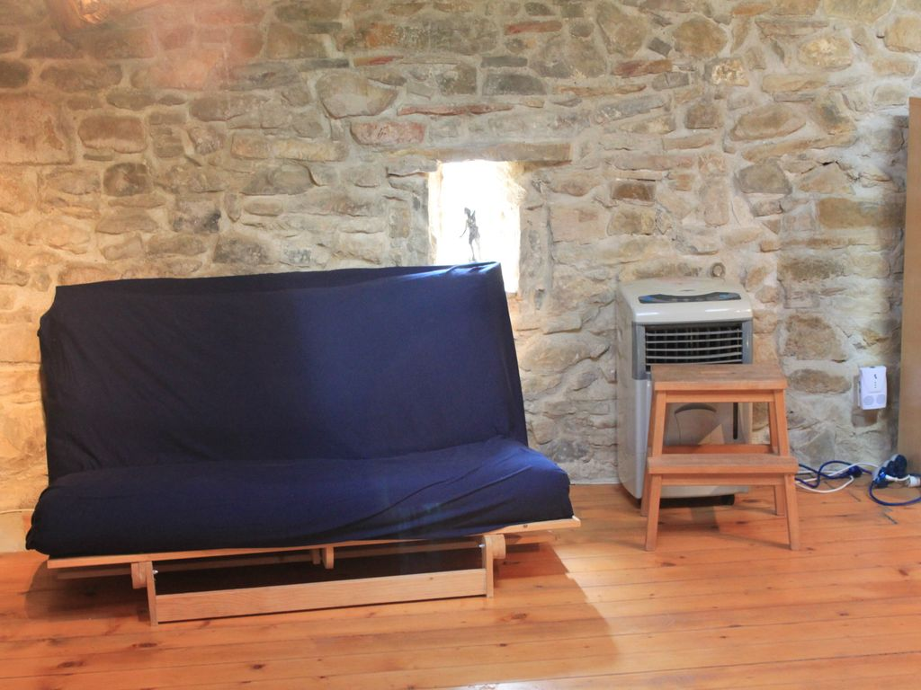 Modern Conversion, Stone Barn in a Tiny Village in the Vineyards of Languedoc