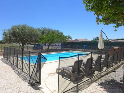 Photo for Renovated house near the village, swimming pool, 30 kms form the beaches