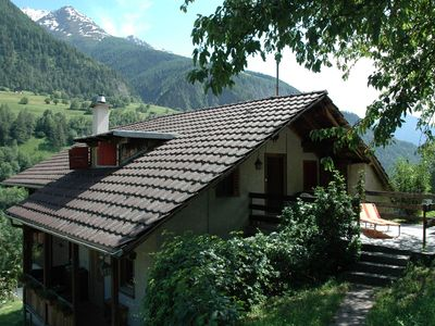 Photo for Cozy Chalet in Mörel with Private Terrace