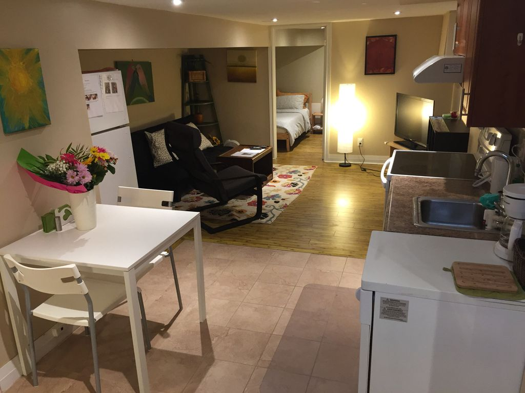 The Beach Apartment Rental   Dining, Open Kitchen And Living Room Area