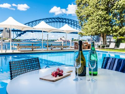 Photo for Spectacular Harbour Views + Amazing Pool and VIVID2019 *25% DISCOUNT BE QUICK
