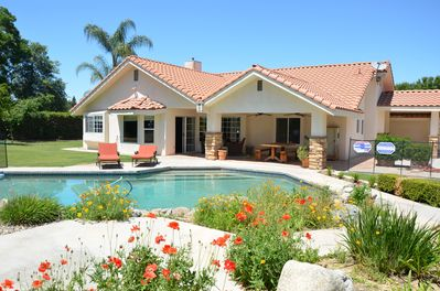 Swell Bright And Beautiful Pool Home Bakersfield Home Interior And Landscaping Ologienasavecom