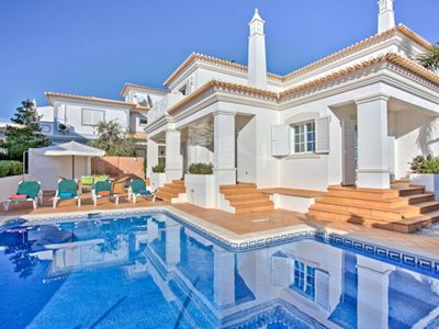 Photo for Superb villa with private pool set in enclosed gardens in prestigious Sao Rafael