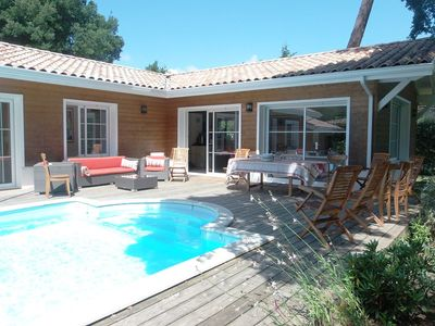 Photo for Beautiful and recent villa on the golf of Hossegor