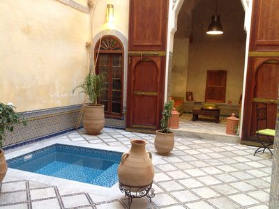 Photo for Dar el Assad house for rent in the medina