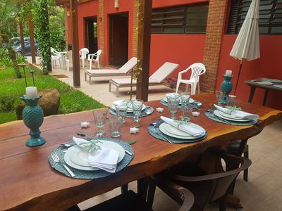 Photo for Comfort with natural beauty and total security - 5 rooms (2 suites)