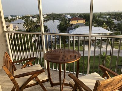 Photo for Peaceful Canal Views from 7th Floor Condo