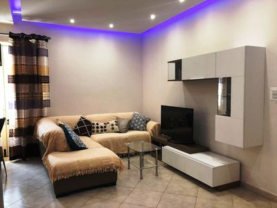 Photo for Sliema 3 Bedroom Apartment Fully Air-Conditioned with Roof Terrace