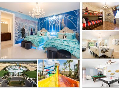 Photo for Luxury 7 Bed / 7 Bath Home near Disney with Frozen and Harry Potter Themed Rooms