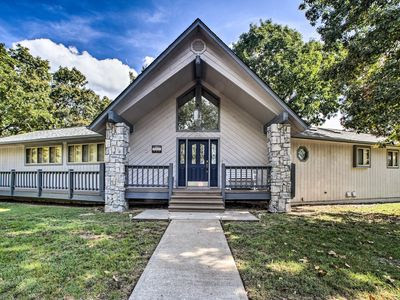 Photo for NEW! Grand Garfield Home w/ 2 Decks & Game Room!
