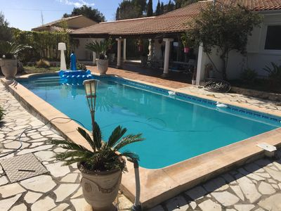 Photo for Quiet house with pool near the sea sanary sur mer and gorges