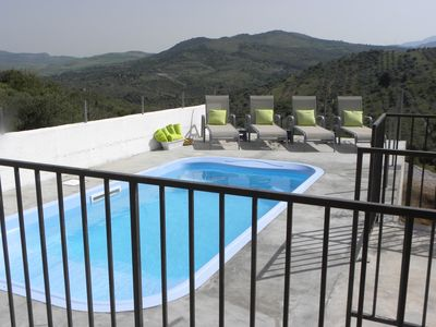 Photo for Country Designer Cottage with Pool and view to Paradise! Danza La Luna!