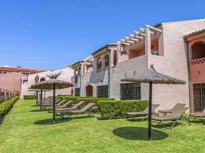Photo for Málaga Studio - Peaceful Seclusion, Manicured Gardens, Resort Pools!