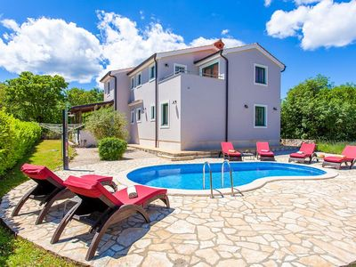 Photo for Large and comfortable holiday home in Kras, Island Krk, Croatia  with private pool for 8 persons