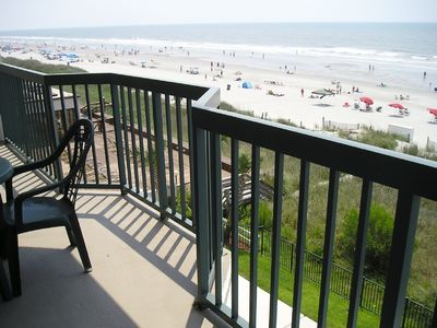 Front yard view-60 miles of beach!