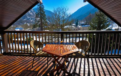 Photo for T2 mountain views quiet, 600m center Luchon, large South loggia, 3rd floor