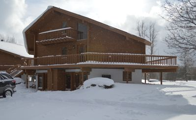 Photo for Top Value!LeVilla Condo @ Schuss Mtn, walk to lift, WiFi, elec fireplace,smartTV