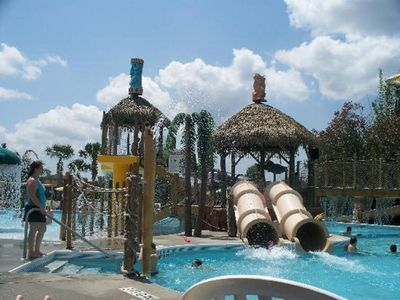 Photo for 1 BDRM~ LIKI TIKI VILLAGE RESORT~ HEATED POOLS~ LAKE FRONT~ BICYCLES~ WATERPARK~