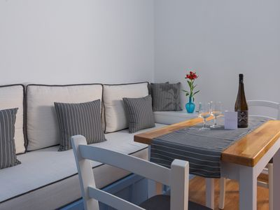 Photo for Deluxe Apartment with Private Balcony and Sea View C, Symi