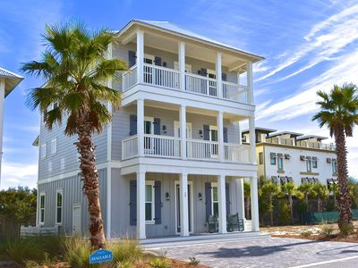 Photo for Blue Jewel: Brand New Beach Home with Beautiful Private Pool! 20% off August!