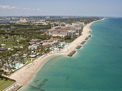 Photo for Sunny Suite Penthouse With Breakers View, Walk to the Beach in Center of Town