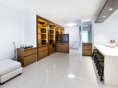 Photo for Luxury and Spacious Two-Bedroom Apartment for Families
