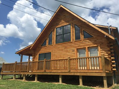 Photo for Gorgeous Log Home-Sleeps 12!