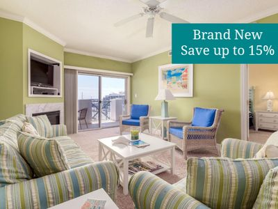 Photo for Never Rented! Ocean Block in North OC - Pool, Gym, 2 Master Suites!