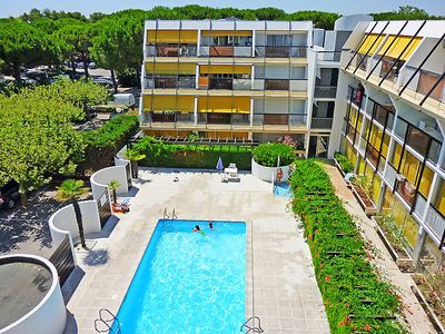 Photo for One bedroom Apartment, sleeps 4 in La Grande-Motte with Pool and WiFi