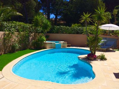 Photo for ❤️❤️❤️ 22/06 to 29/06: 1050 € and 27/07 to 03/08: 2950 € swimming pool / jacuzzi heated