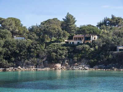 Photo for Luxury Villa - Isola d''Elba - on the sea, big garden and direct access to the water
