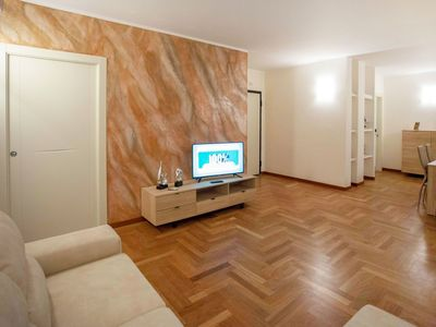 Photo for Lovely apartment for 4 guests with WIFI, A/C, TV and balcony