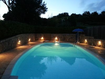 Photo for Complete refurbished old farmhouse with pool and garden