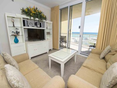 Photo for Beachfront Condo with Free Beach Service! Onsite Fitness Center, Beachfront Pools, & More