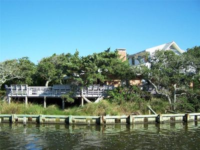 Photo for Faraway Oaks:  Canal front home, open floor plan, private dock.