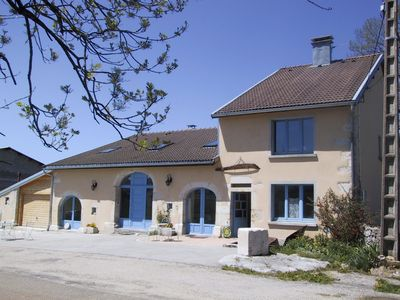 Photo for Gîte in an old renovated farmhouse of Haut-Jura
