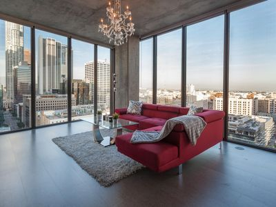 Photo for URBAN DOWNTOWN LA FLOOR TO CEILING PENTHOUSE
