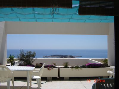 Photo for apartment comfort sea view terrace pool residence